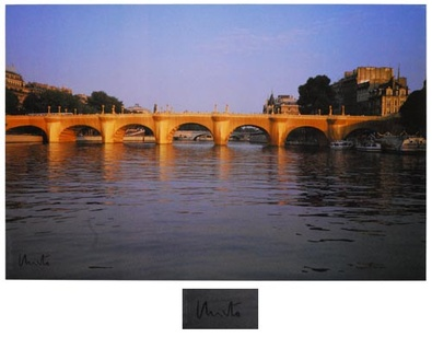 Christo Pont Neuf Wrapped
