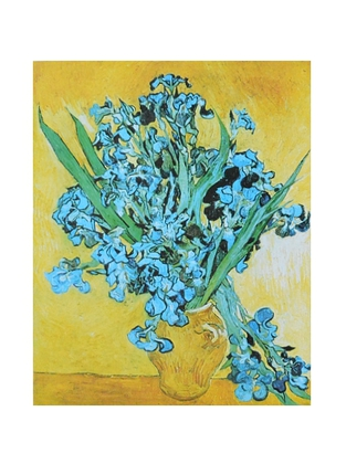 Vincent van Gogh Vase mit Iris