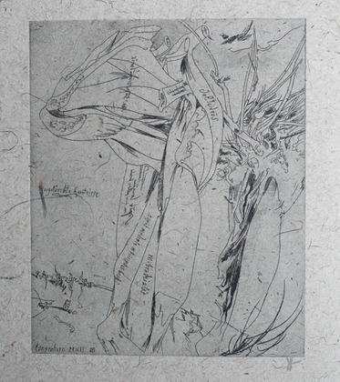 Horst Janssen Brachial, 1985