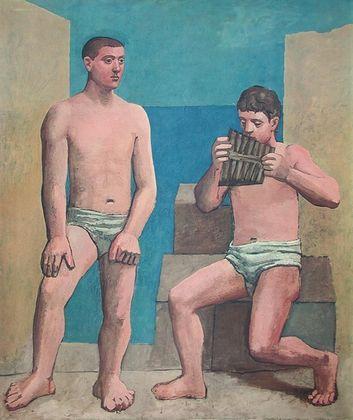 Pablo Picasso Panfloeten