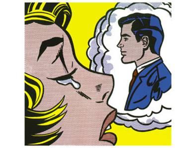 Roy Lichtenstein Thinking of him