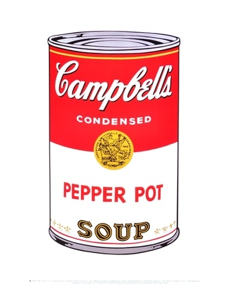 Andy Warhol Campbells Soup Pepper Pot