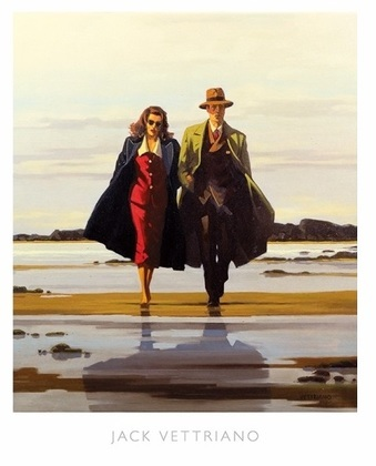 Jack Vettriano The Road to Nowhere