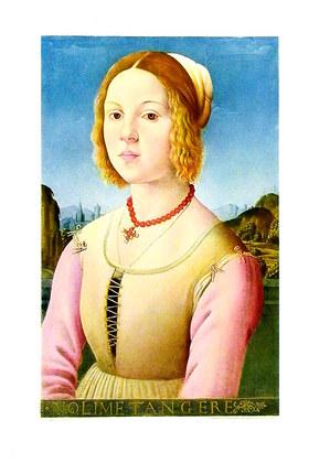 Lorenzo di Credi Bildnis eines jungen Maedchens (klein)