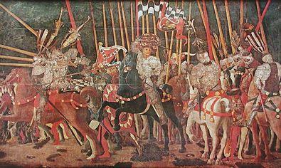 Uccello paolo die schlacht von san romano large