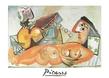 Picasso pablo liegender akt und musiker medium
