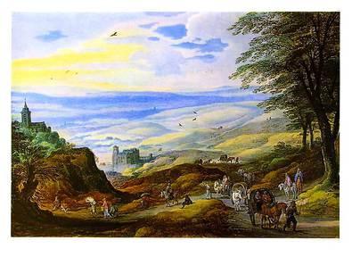 Josse de Momper Landschaft mit weiter Fernsicht (klein)