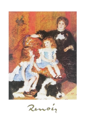 Pierre Auguste Renoir Madame Charpentier und ihre Kinder