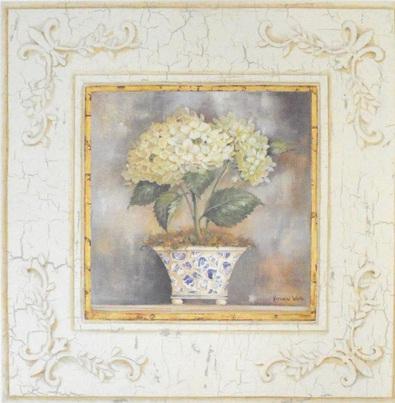 Kathryn White Mosaic Hydrangea white