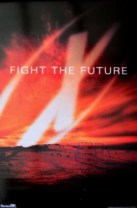 Kinoplakat Fight the Future
