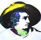 Andy Warhol Goethe, white background