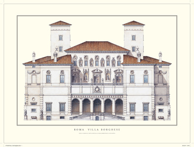 Flaminio Ponzio Rom, Villa Borghese