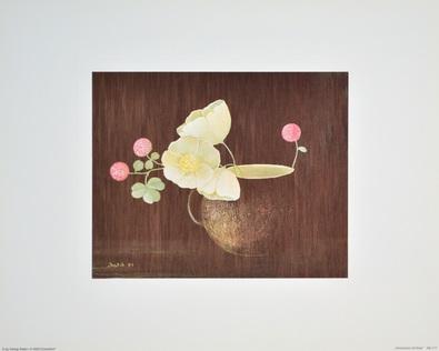 Heide Dahl Anemonen mit Klee