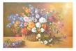 N. Geronson Blumen im Korb