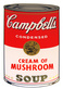 Warhol andy campbells soup cream of mushroom medium