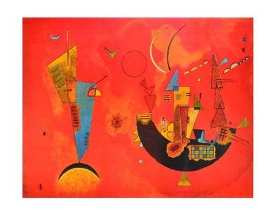 Wassily Kandinsky Mit und Gegen I
