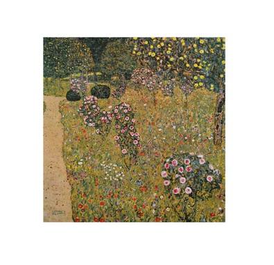 Gustav Klimt Obstgarten mit Rosen
