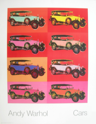 Andy Warhol Cars Mercedes Typ 400 Bj. 1925    x8