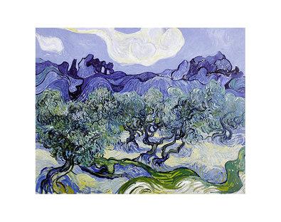 Vincent van Gogh The Olive Trees, 1889