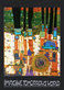 Hundertwasser friedensreich blue blues orange medium
