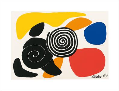 Alexander Calder Spirals and Petals, 1969