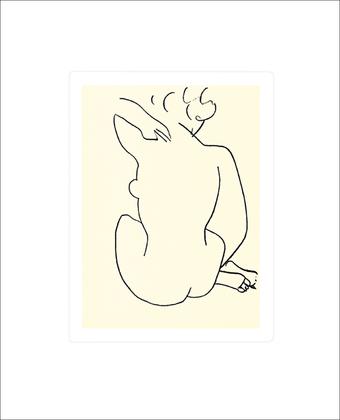 Henri Matisse Nu, 1949