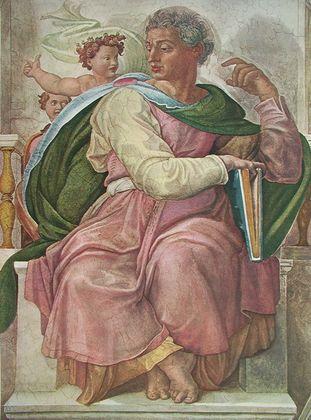 Michelangelo Der Prophet Jesaias