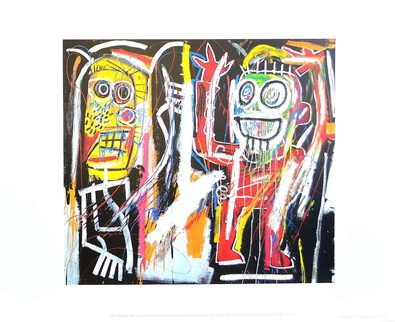 Jean-Michel Basquiat Dustheads 1982