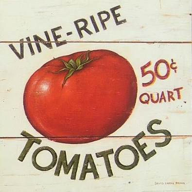 David Carter Brown Vine Ripe Tomatoes