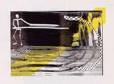Sigmar Polke Der erste Schnitt  ( 1995 )