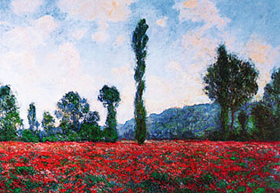 Claude Monet Campo di papaveri