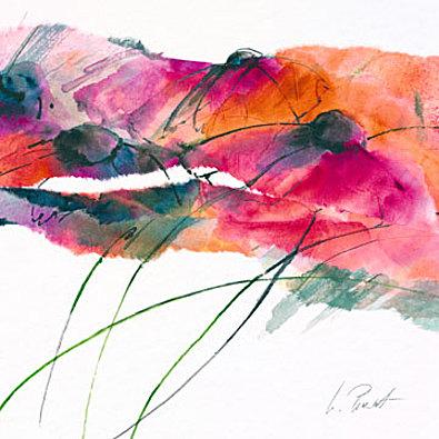 Marta Peuckert Modern Poppy II