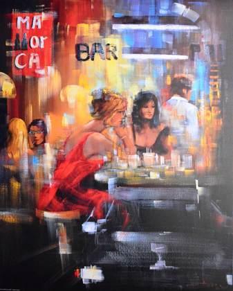 Madjid Bar Scene IV