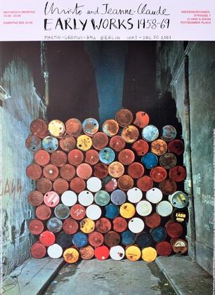 Christo und Jeanne-Claude Rue Visconti, Paris, Berlin