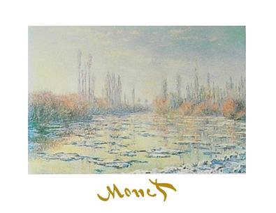 Claude Monet Das Auftauen