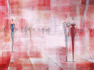 Joram Neumark Squares of the City I (Cherry)