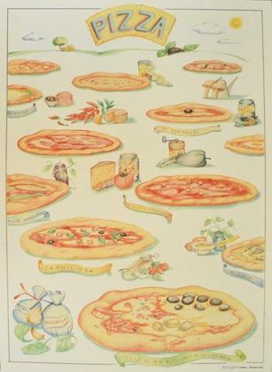unbekannter Kuenster Pizza