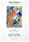 Theo Tobiasse Paar in der Stadt  - Ausstellungsplakat 1996