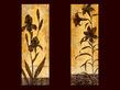 Stefania Ferri 2er Set 'Iris Silhouette' + 'Trumpet Lily Silhouette'