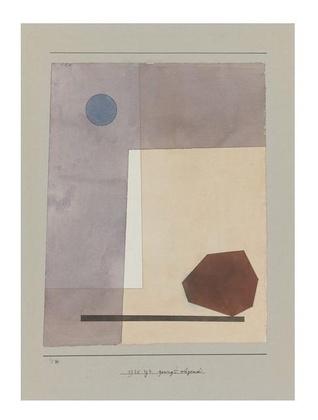 Paul Klee gewagt waegend