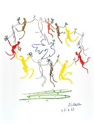 Pablo Picasso Der Reigen 1961