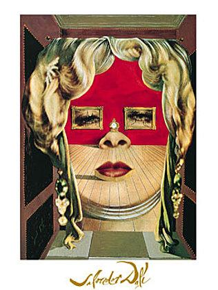 Salvador Dali Il volto di Mae West