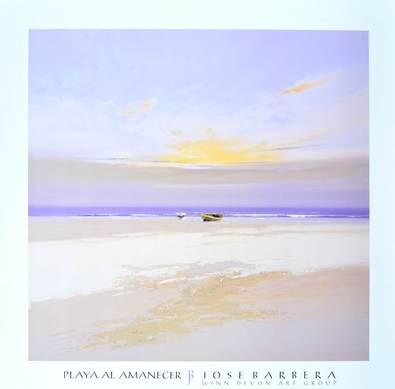 Jose Barbera Playa al Amanecer
