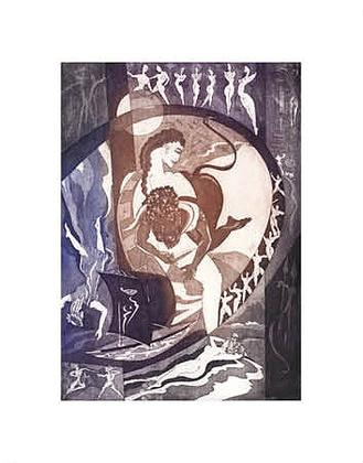 Alfred Gockel Griechische Mythologie - Minotaurus
