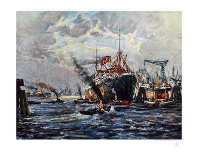 Wilhelm Tiedjen Hamburger Hafen