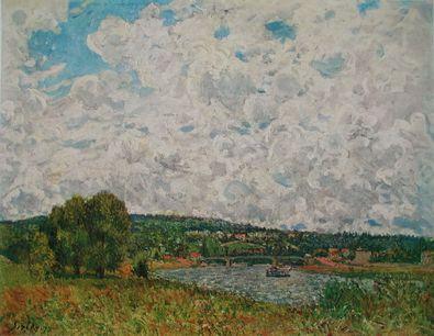 Alfred Sisley Ufer der Seine