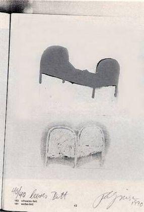 Felix Droese Leeres Bett (1990)