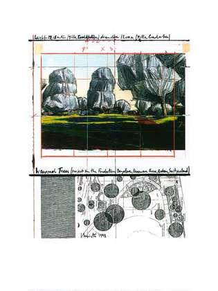 Christo Wrapped Trees Nr.IV (Riehen)
