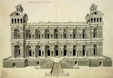 Nicht bekannt Facade d'un Palais