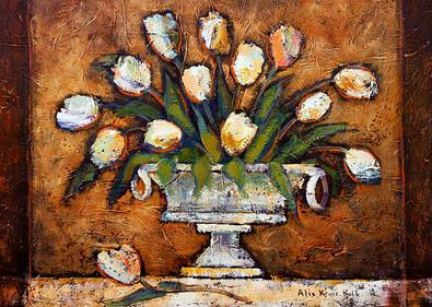 Alie Kruse-Kolk 2er Set 'Royal Tulips' + 'Royal Garden'